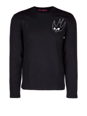 Mcq: Sweatshirts & Sweaters - Sweatshirt with Swallow patches