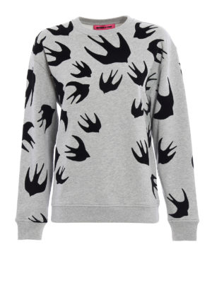 Mcq: Sweatshirts & Sweaters - Velvet Swallow sweatshirt