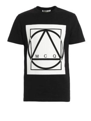 Mcq: t-shirts - Logo print T-shirt