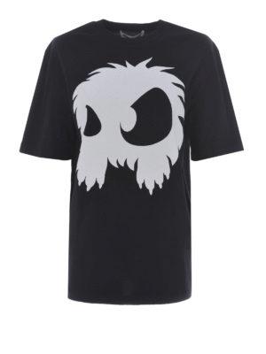 MCQ: t-shirt - T-shirt con stampa mostro