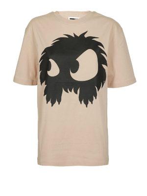 MCQ: t-shirt - T-shirt pesca con stampa mostro