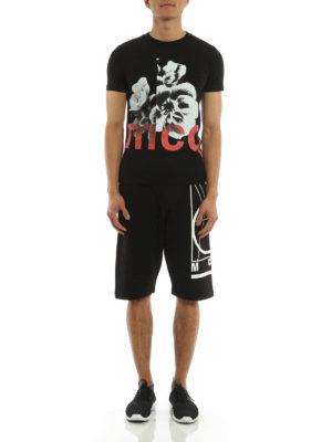 Mcq: t-shirts online - Floral print T-shirt