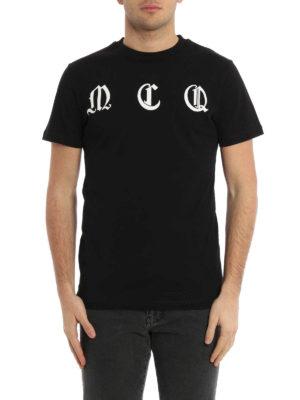 Mcq: t-shirts online - Logo lettering print T-shirt