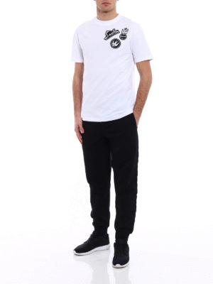 Mcq: t-shirts online - Swallow embroidered patches T-shirt