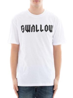 Mcq: t-shirts online - Swallow print T-shirt