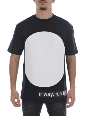 Mcq: t-shirts online - Urban Poetry print T-shirt