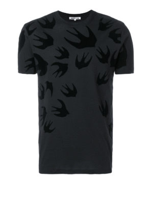 MCQ: t-shirt - T-shirt Swallow nera