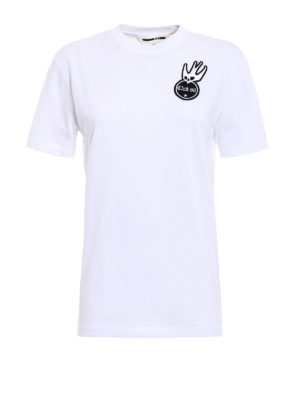 Mcq: t-shirts - Swallow embroidered T-shirt