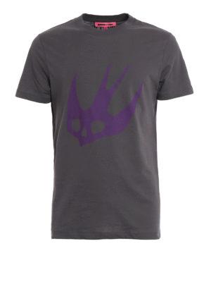 Mcq: t-shirts - Swallow print T-shirt