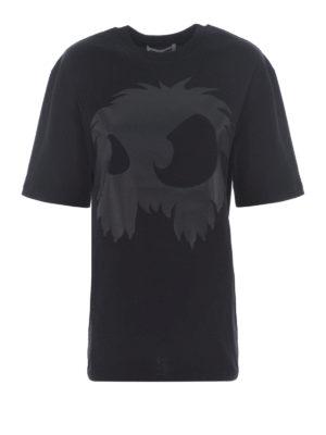 MCQ: t-shirt - T-shirt con stampa tono su tono