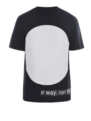 Mcq: t-shirts - Urban Poetry print T-shirt