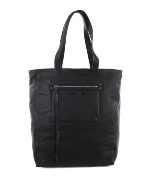 Mcq: totes bags - Loveless leather tote