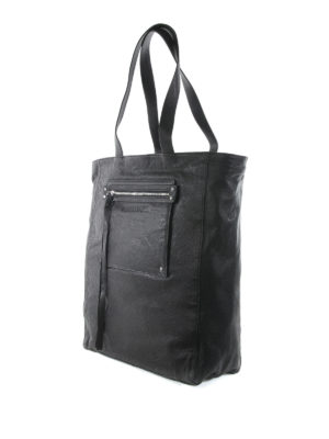 Mcq: totes bags online - Loveless leather tote