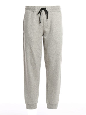 Mcq: tracksuit bottoms - Embroidered logo tracksuit bottoms