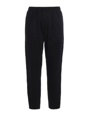 Mcq: tracksuit bottoms - Inside out jersey pants