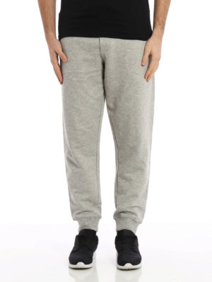 Mcq: tracksuit bottoms online - Embroidered logo tracksuit bottoms