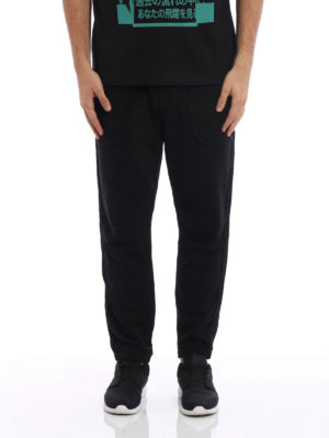 Mcq: tracksuit bottoms online - Inside out jersey pants