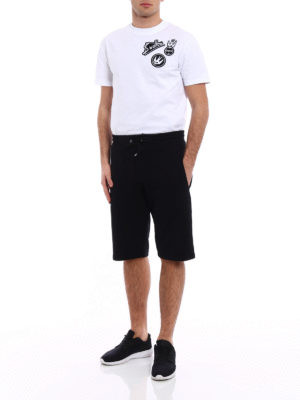 Mcq: tracksuit bottoms online - Repeated McQ short tracksuit