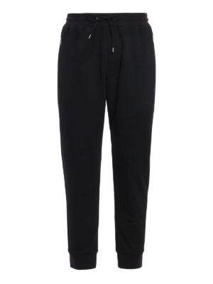Mcq: tracksuit bottoms - Pique tapered sweatpants