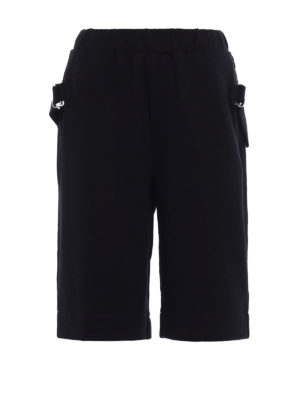 Mcq: tracksuit bottoms - Short tracksuits with straps
