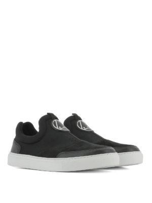 Mcq: trainers online - Youko neoprene slip-on sneakers