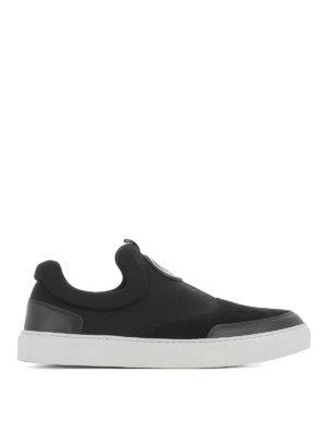 Mcq: trainers - Youko neoprene slip-on sneakers