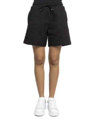 Mcq: Trousers Shorts online - Embroidered logo short trousers