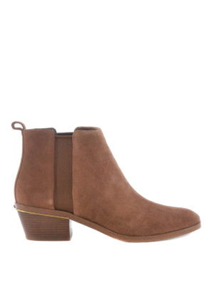 Michael Kors: ankle boots - Crosby brushed suede Chelsea boots