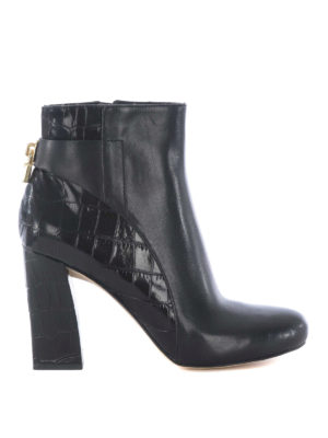 Michael Kors: ankle boots - Mira black leather booties