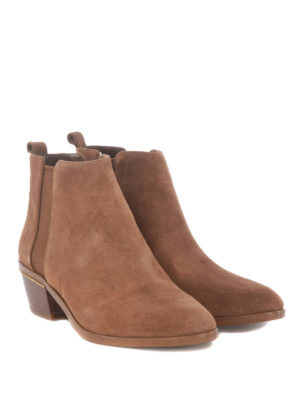 Michael Kors: ankle boots online - Crosby brushed suede Chelsea boots