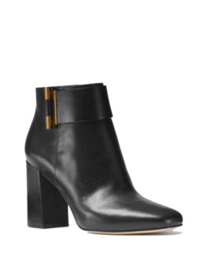 Michael Kors: ankle boots online - Gloria leather pointy booties