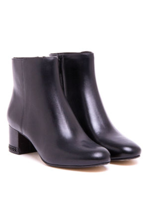 Michael Kors: ankle boots online - Sabrina smooth leather mid booties