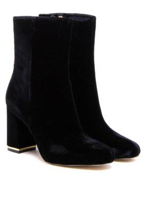 Michael Kors: ankle boots online - Ursula velvet booties