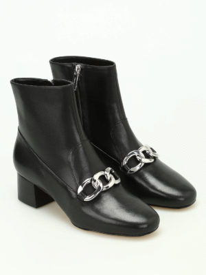 Michael Kors: ankle boots online - Vanessa chain detail ankle boots