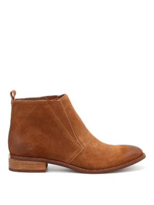 Michael Kors: ankle boots - Riley suede ankle boots