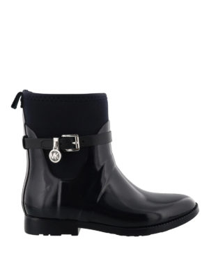 MICHAEL KORS: tronchetti - Stivali da pioggia gomma e neoprene