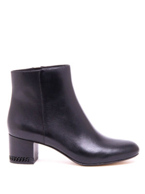 Michael Kors: ankle boots - Sabrina smooth leather mid booties