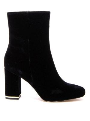 Michael Kors: ankle boots - Ursula velvet booties