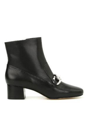 Michael Kors: ankle boots - Vanessa chain detail ankle boots