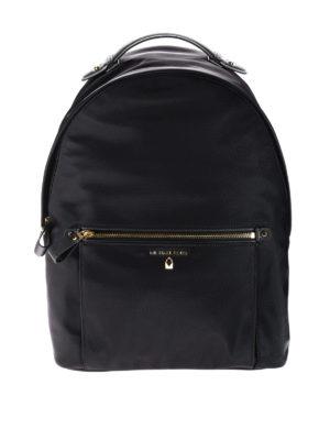 Michael Kors: backpacks - Kelsey black nylon backpack