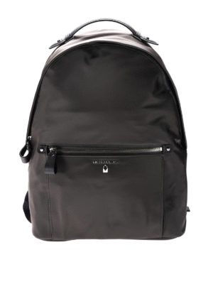 Michael Kors: backpacks - Kelsey dark grey nylon backpack