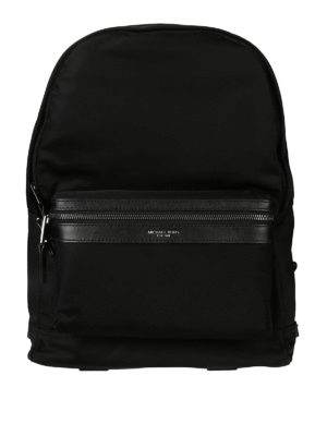 Michael Kors: backpacks - Logo detail nylon backpack