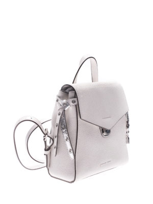 Michael Kors: backpacks online - Bristol hammered leather backpack