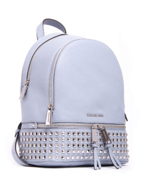 Michael Kors: backpacks online - Hammered leather Rhea backpack