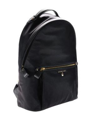 Michael Kors: backpacks online - Kelsey black nylon backpack