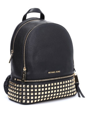 Michael Kors: backpacks online - Rhea medium studded backpack