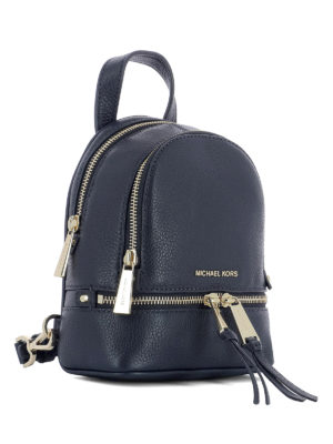 Michael Kors: backpacks online - Rhea mini blue backpack
