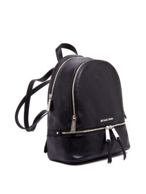 Michael Kors: backpacks online - Rhea small leather backpack