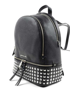 Michael Kors: backpacks online - Rhea small studded leather backpack