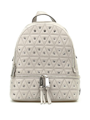 Michael Kors: backpacks - Rhea backpack with metal eyelets